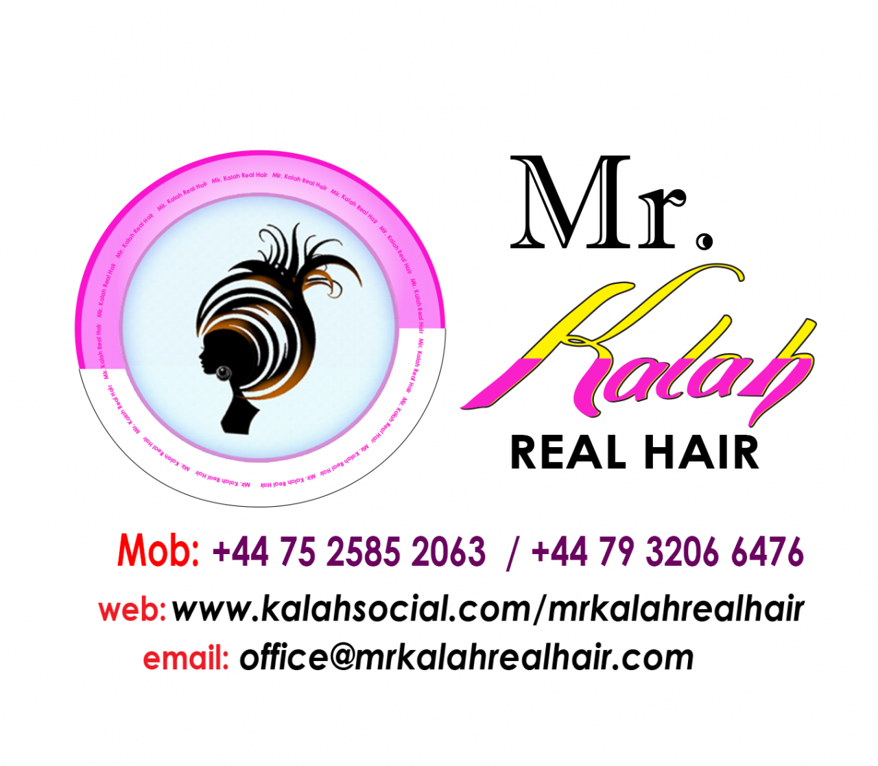 Mr Kalah Real Hair  2